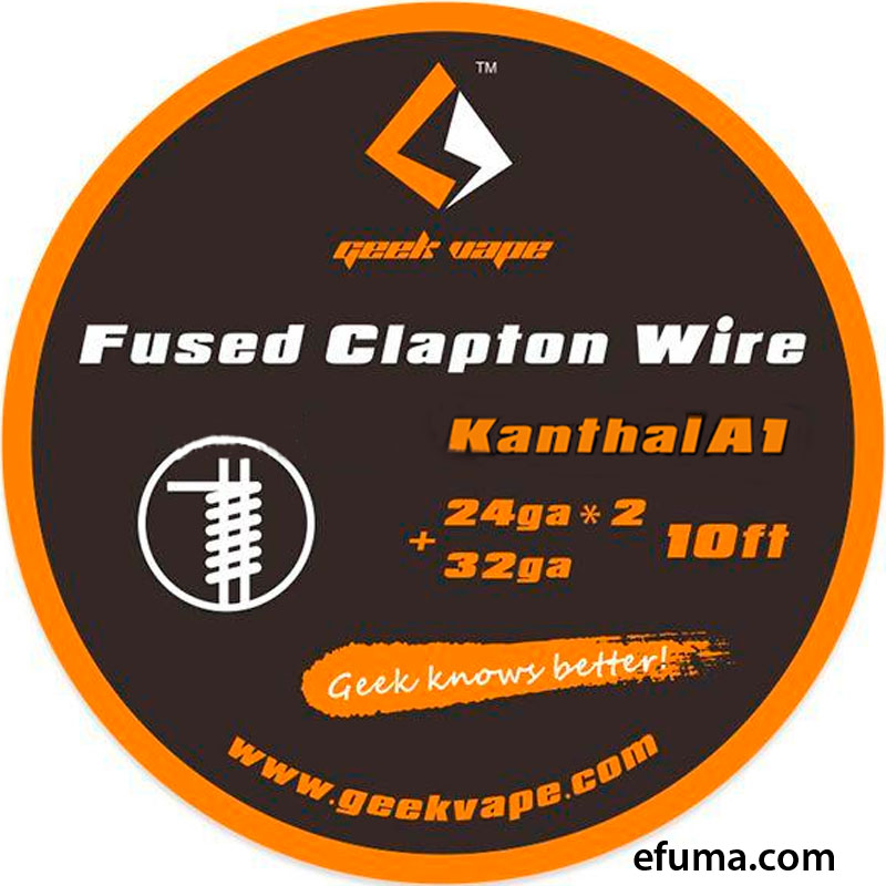 10ft GeekVape Kanthal A1 Fused Clapton Wire