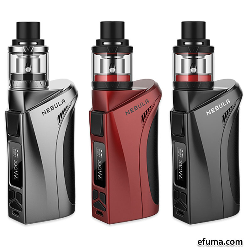 100W Vaporesso Nebula TC Kit + 2ml Veco Plus Tank - Stål