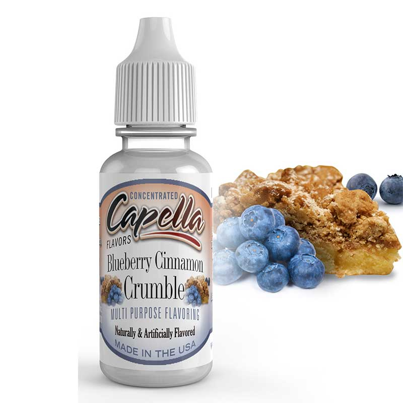 Blueberry Cinnamon Crumble - 13ml
