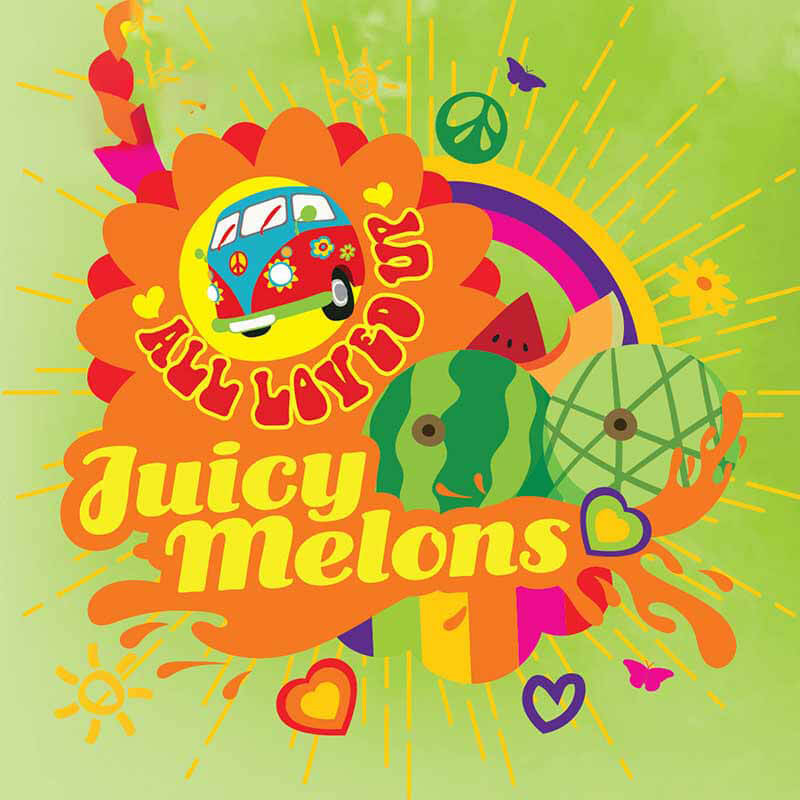 All Loved Up - Juicy Melons - 10ml