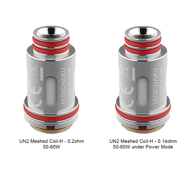 Uwell UN2 Meshed Coil-H (4 stk)