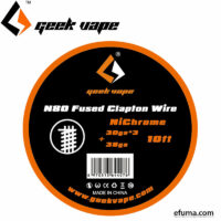 10ft N80 Fused Clapton Wire (30GAx3+38GA)