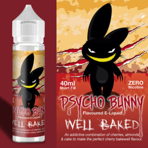 PSYCHO BUNNY WELL BAKED