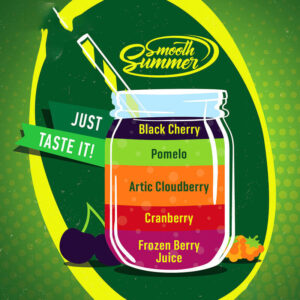 Smooth Summer - Frozen Berry Juice, Cranberry, Artic Cloudberry, Pomelo, Black Cherry (FCAPB) - 30ml