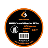 10ft N80 Fused Clapton Wire (28GAx3+36GA)