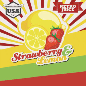 Retro Juice - STRAWBERRY and LEMON - 30ml