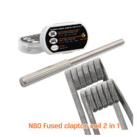 N80 Fused Clapton Coil 2 In 1 (8 stk)