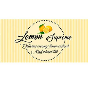 10ml Mad Science Lab Essence - Lemon Supreme