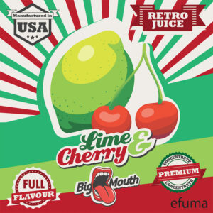 Retro Juice - LIME and CHERRY - 10ml