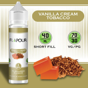 Flapour, Vanilla Tobacco VG70/PG30